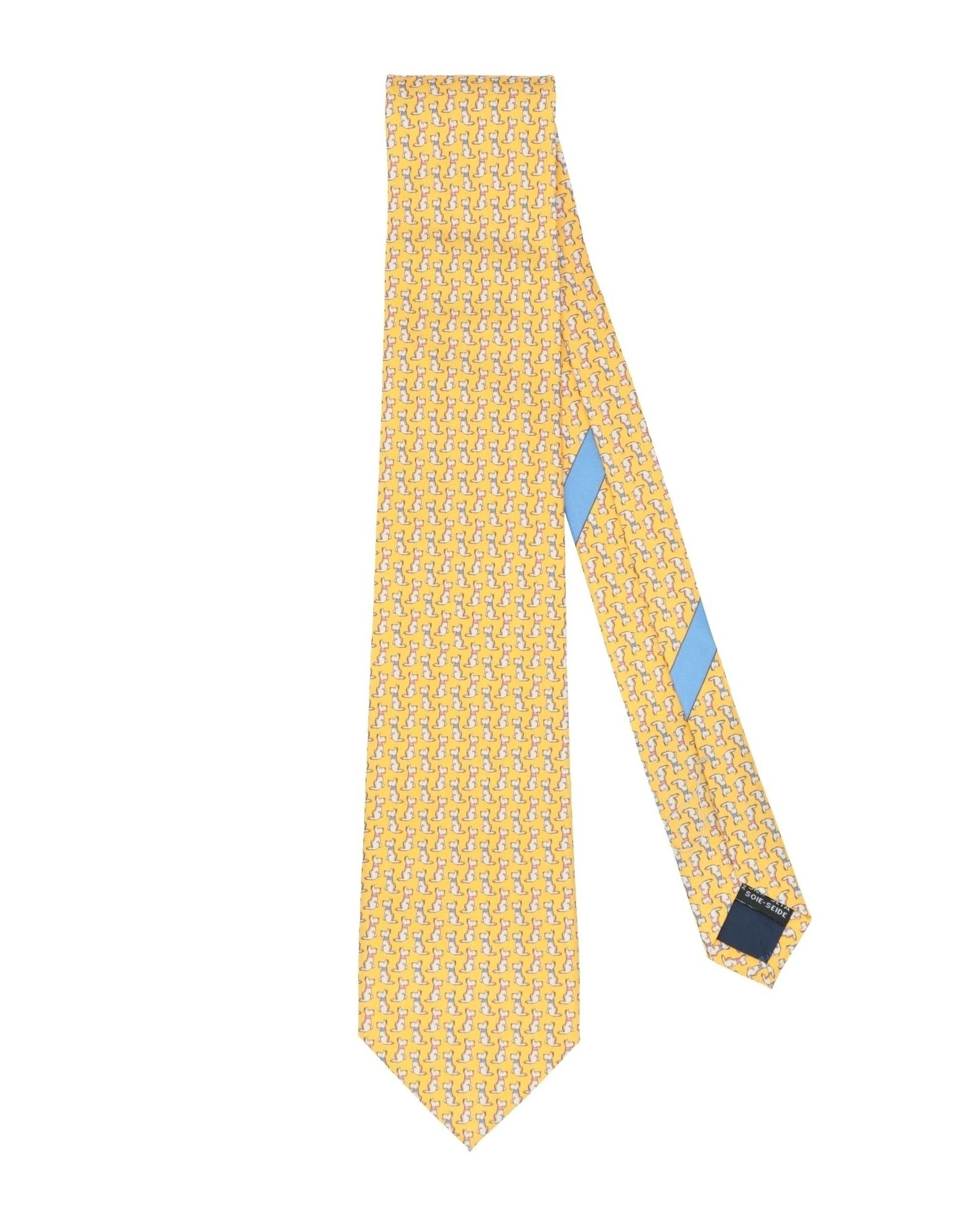 40277d43c6c2 Salvatore Ferragamo Ties In Yellow | ModeSens
