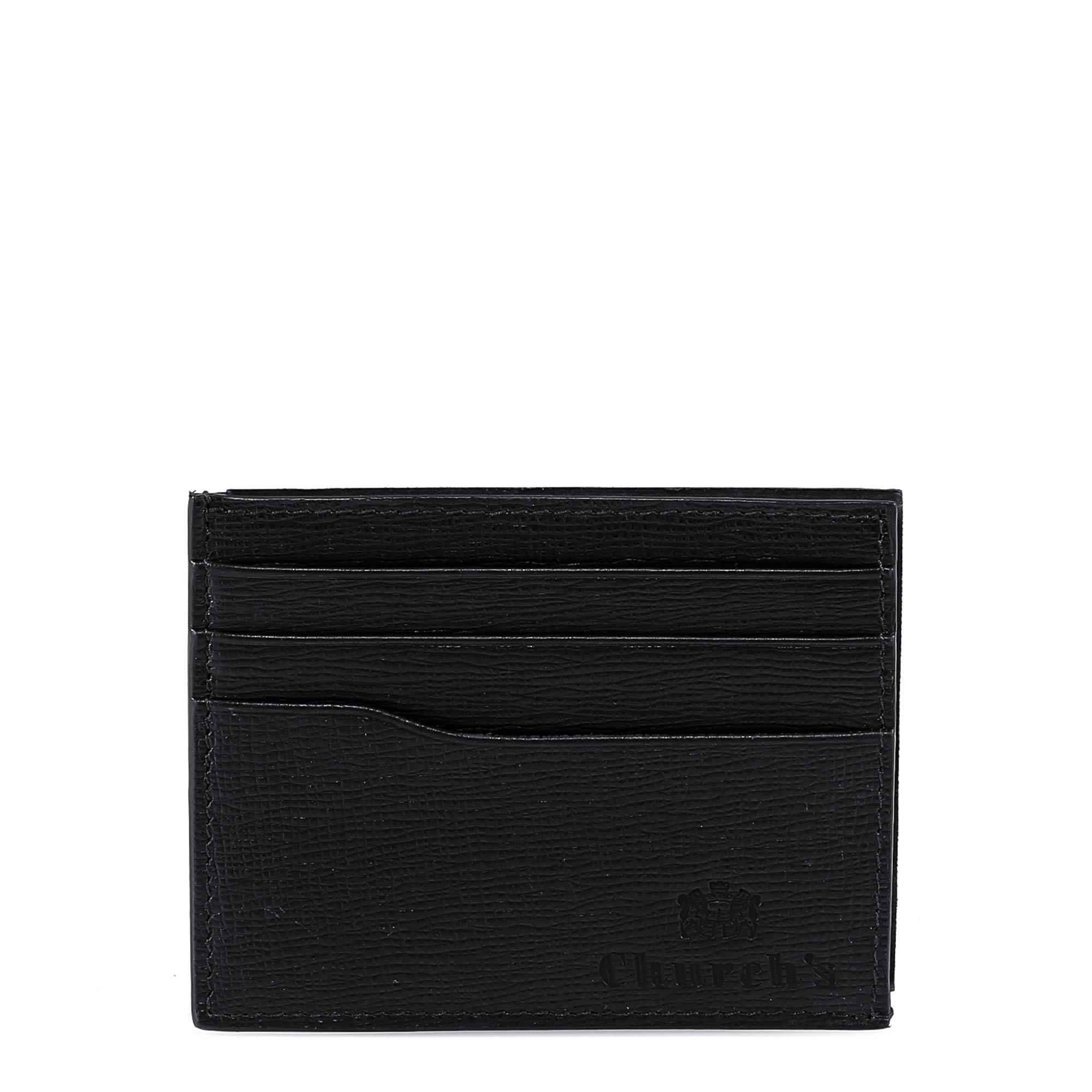 cfe787aa335ef9 Church's Leather Cardholder In Black | ModeSens
