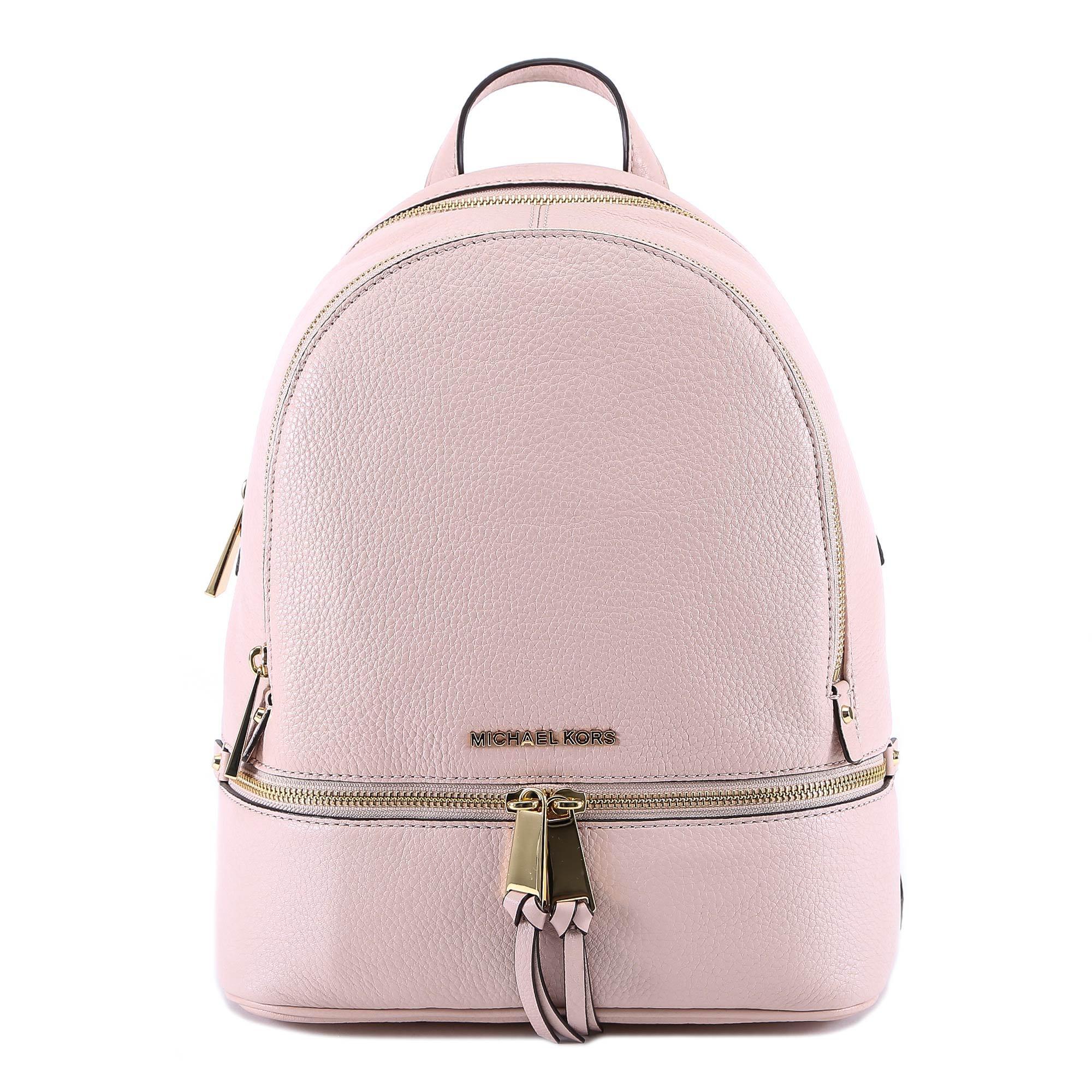 596fb8b5f6d20a Michael Michael Kors Small Rhea Backpack In Pink | ModeSens