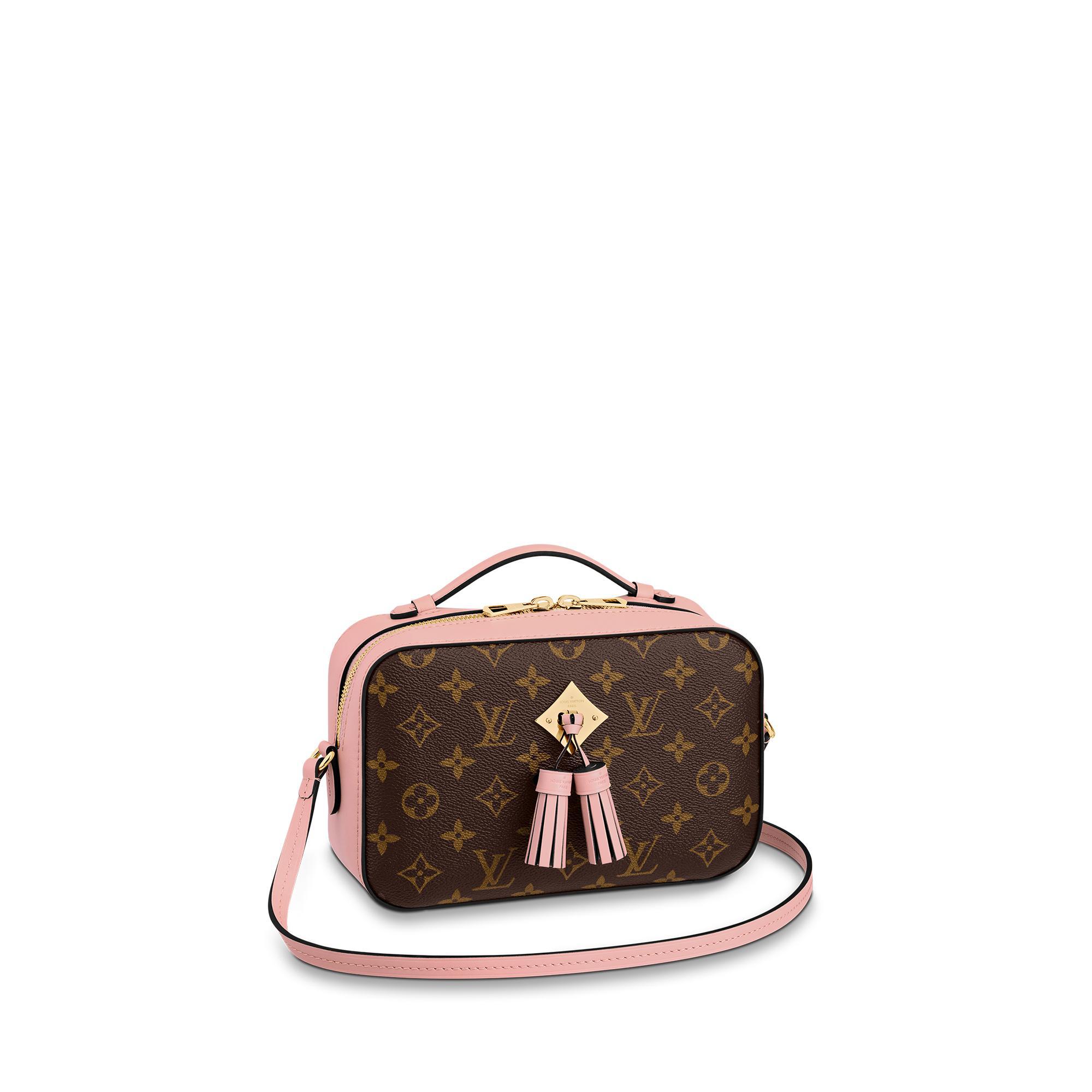 Louis Vuitton Saintonge In Rose Poudre