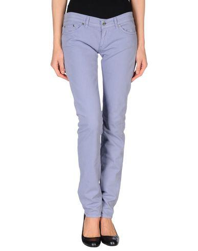 Dondup Denim Trousers In Lilac