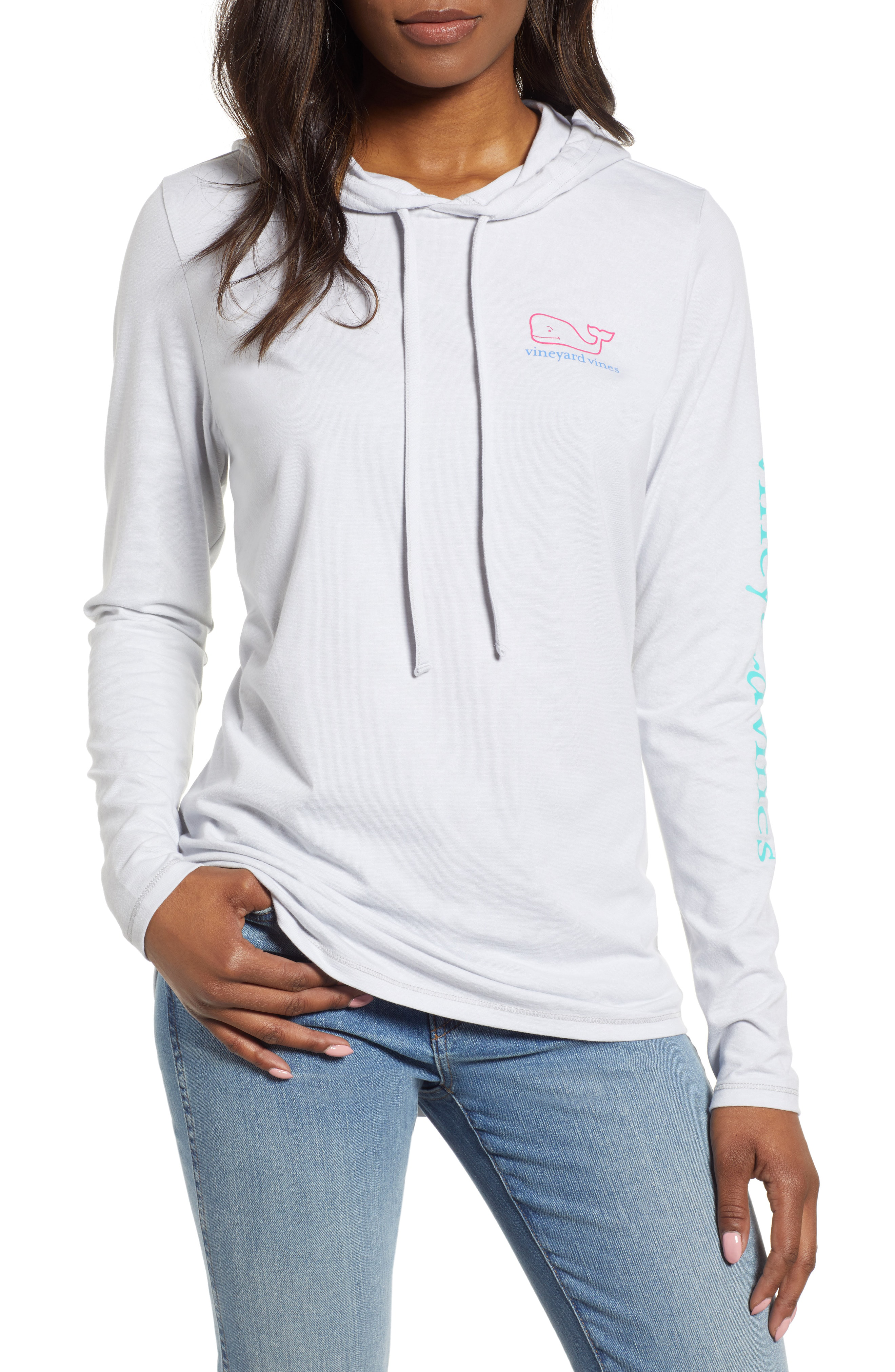 09aef59e Vineyard Vines Edgartown Hooded Pullover In Granite | ModeSens