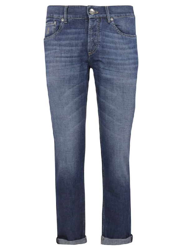 Brunello Cucinelli Straight Leg Jeans In Denim