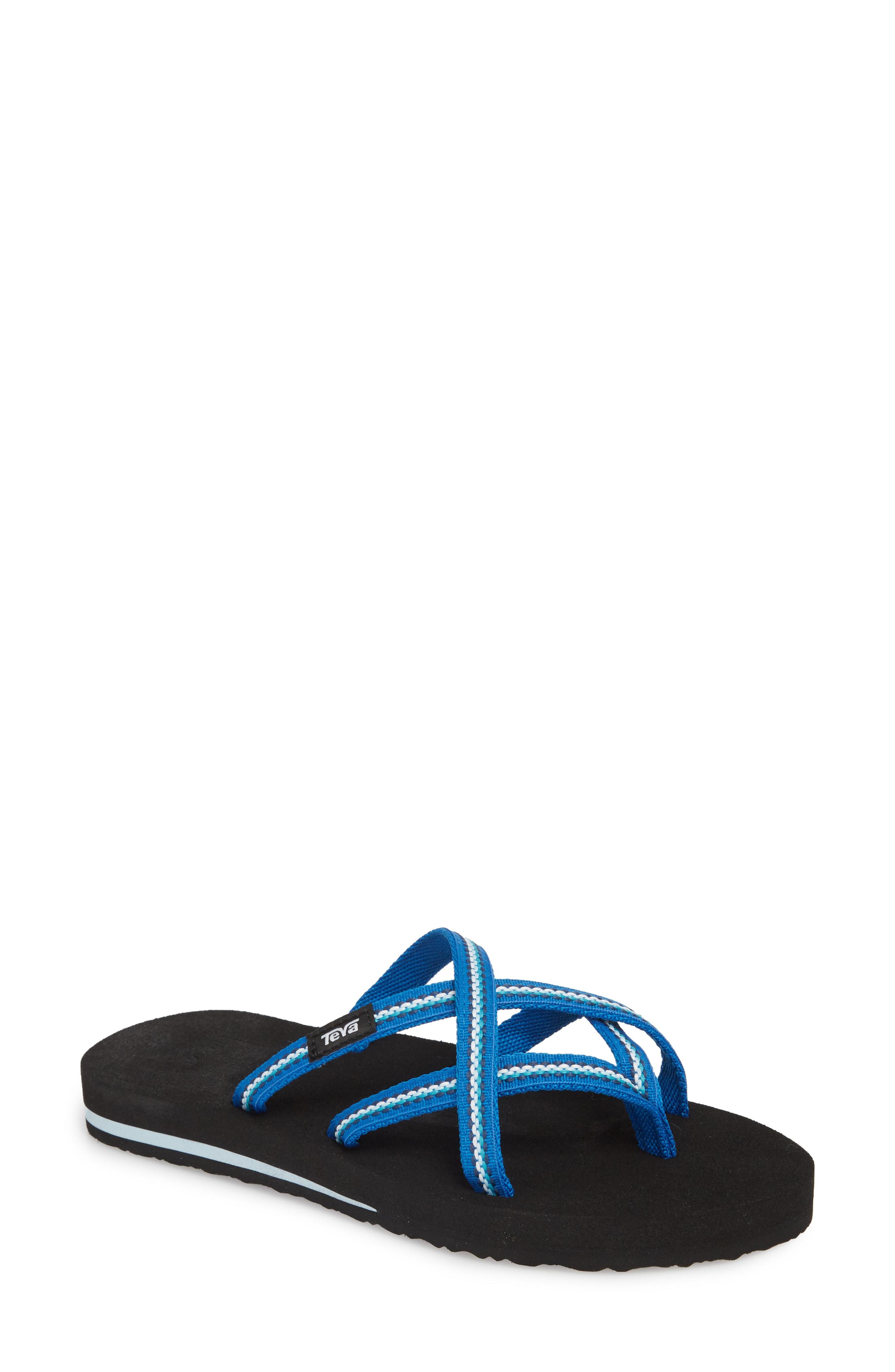 7ecc3ea92 Teva  Olowahu  Sandal In Sari Ribbon Gray Mist Fabric