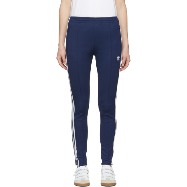 0246640356 Adidas Originals Women's Originals Superstar Track Pants, Blue In ...