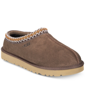 9d3630c22 Ugg Men's Tasman Suede & Shearling Slippers In Chocolate | ModeSens