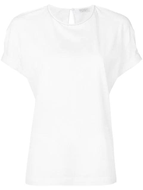 Brunello Cucinelli Loose-fit T-shirt In White