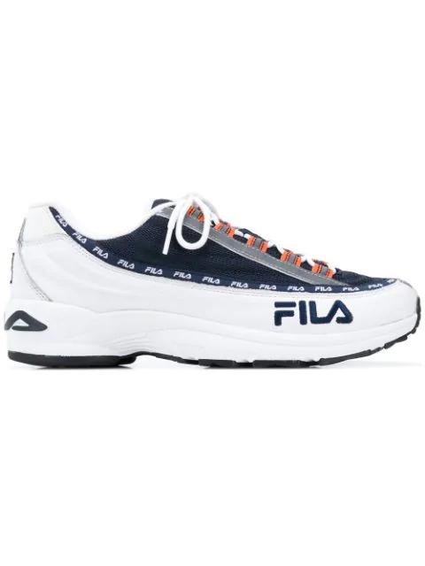 Fila Dstr97 Sneakers In 01c White  Navy