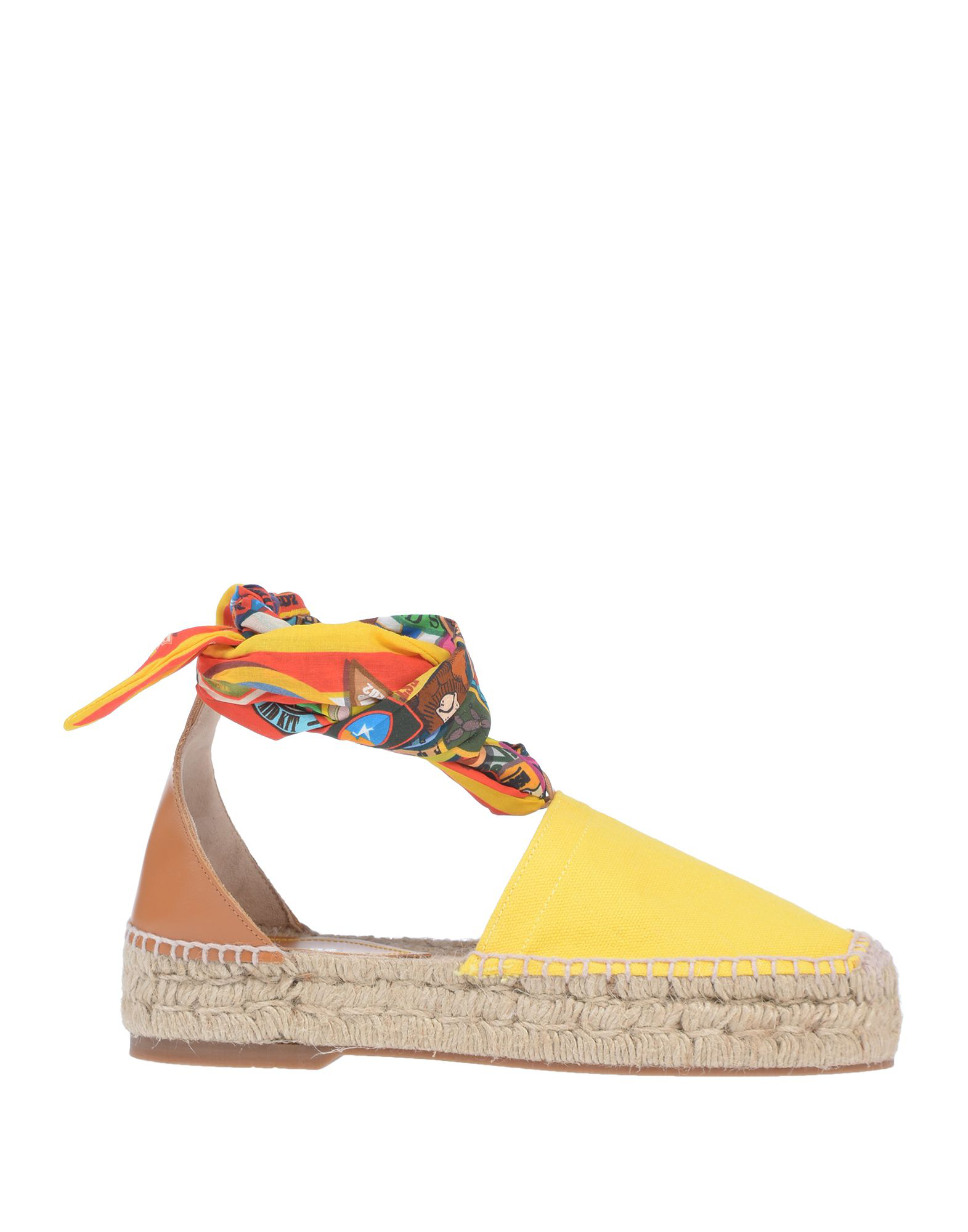 Dsquared2 Espadrilles In Yellow