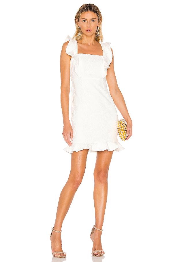 e0fc7fd0f0 Bardot Ashley Frill Cocktail Dress In Ivory | ModeSens