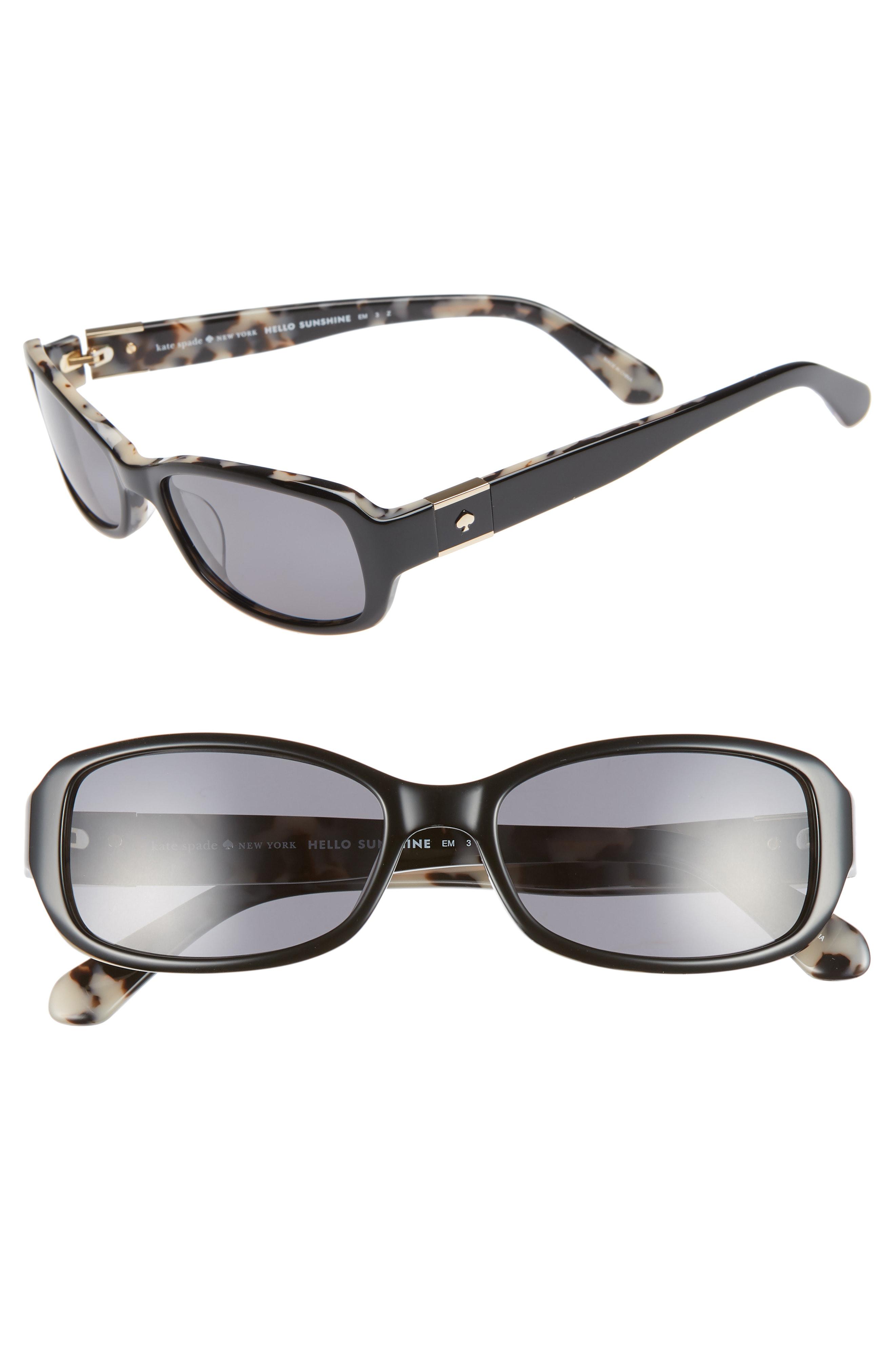bbb745e74dae Kate Spade Paxton2 53Mm Polarized Sunglasses - Havana/ Blue   ModeSens