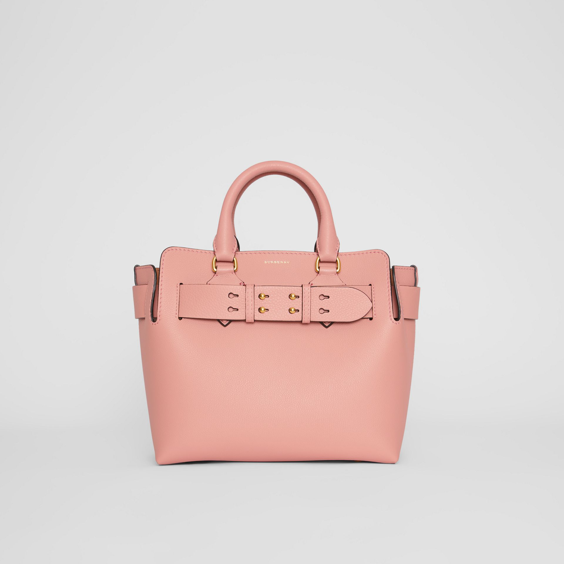 Burberry The Small Belt Bag Aus Leder In Ash Rose
