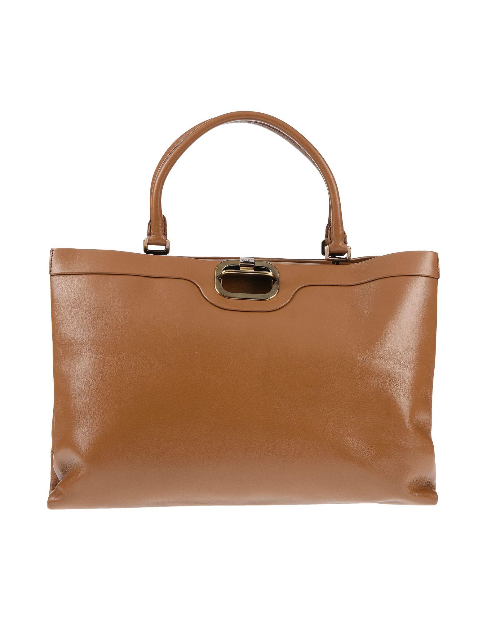 Roger Vivier Handbag In Camel