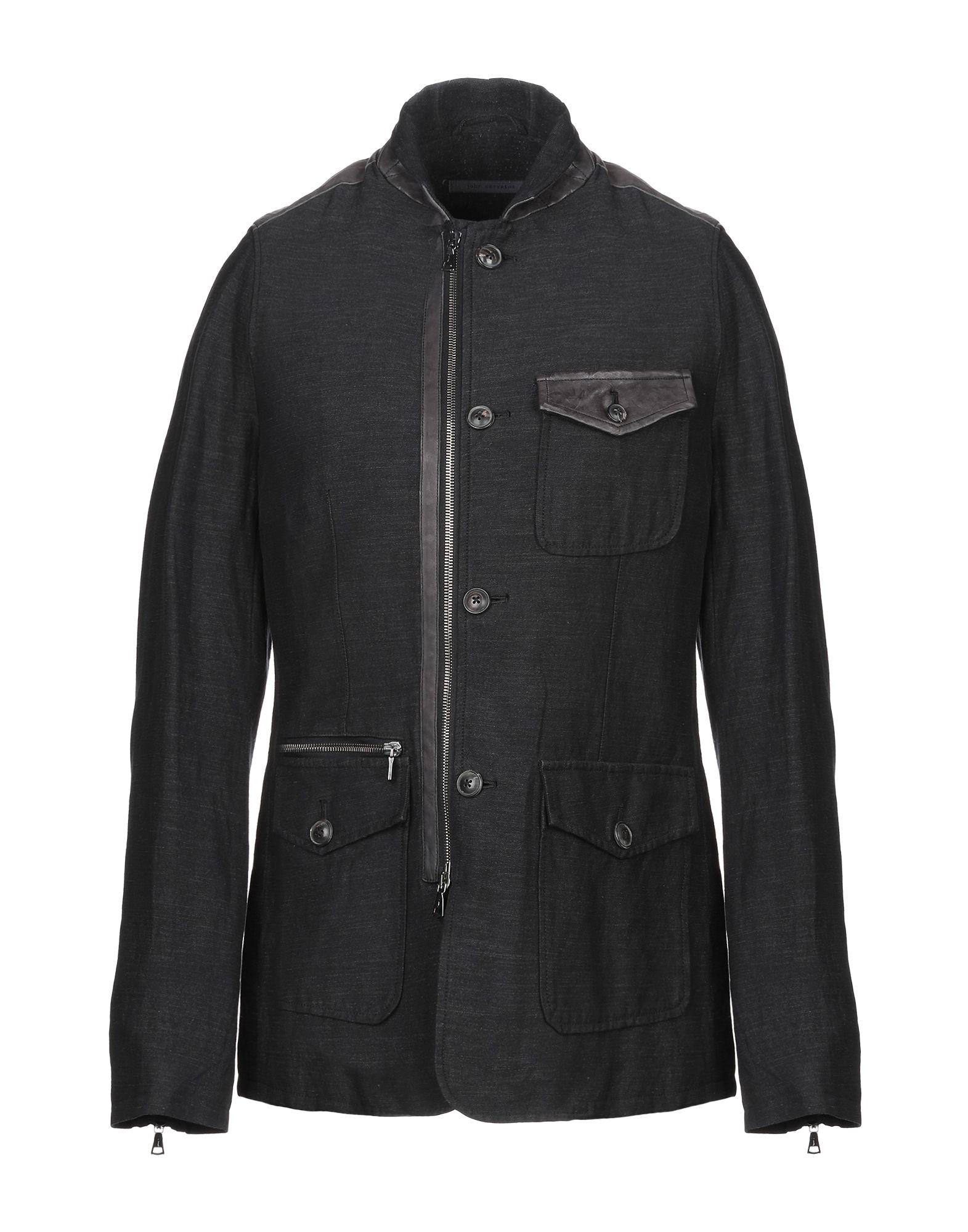 John Varvatos Jacket In Steel Grey