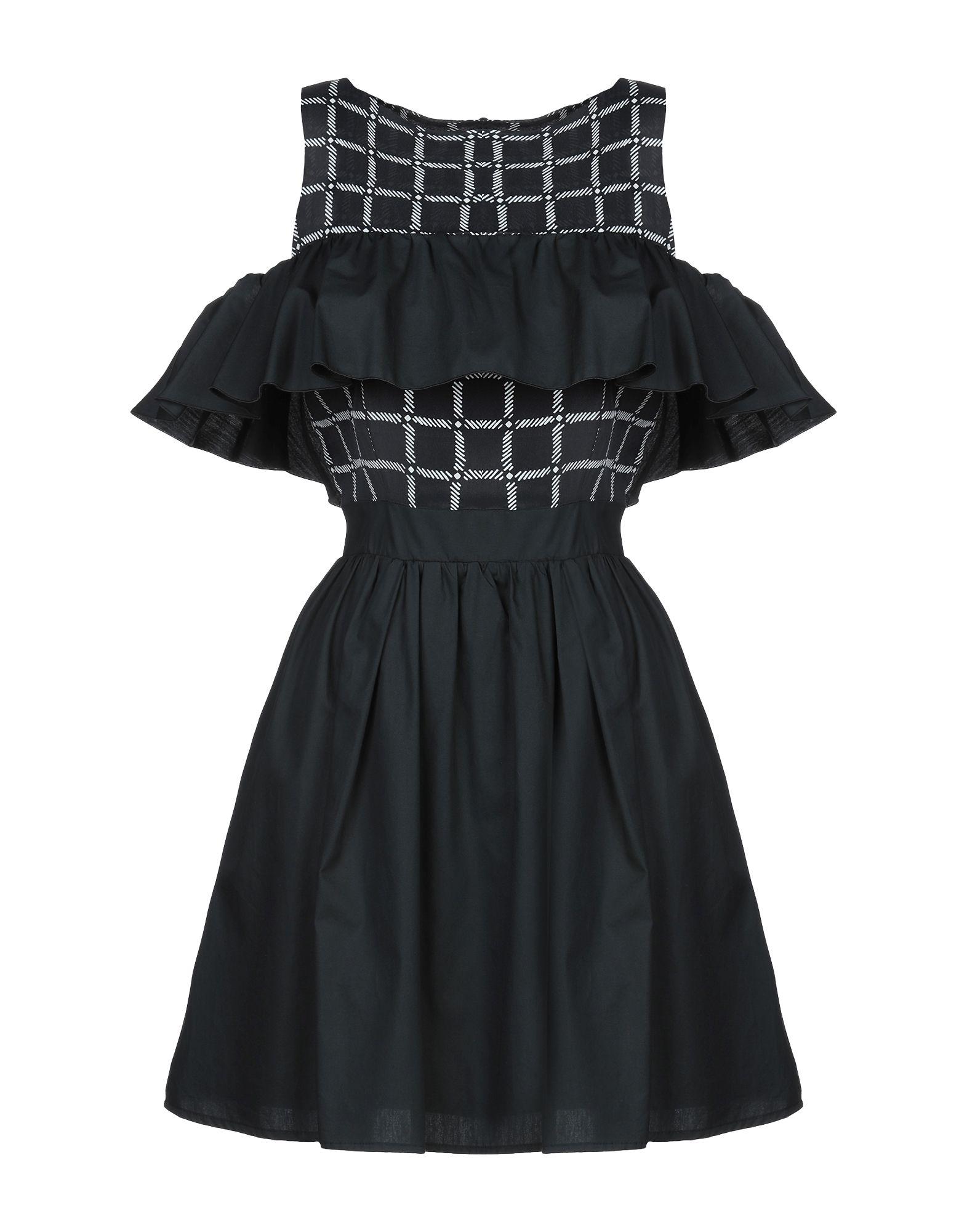 79ae7135f899 Atos Lombardini Short Dress In Black   ModeSens