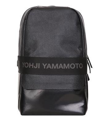 adf08d6aa2b9 Y-3 Qasa Leather Backpack In Nero