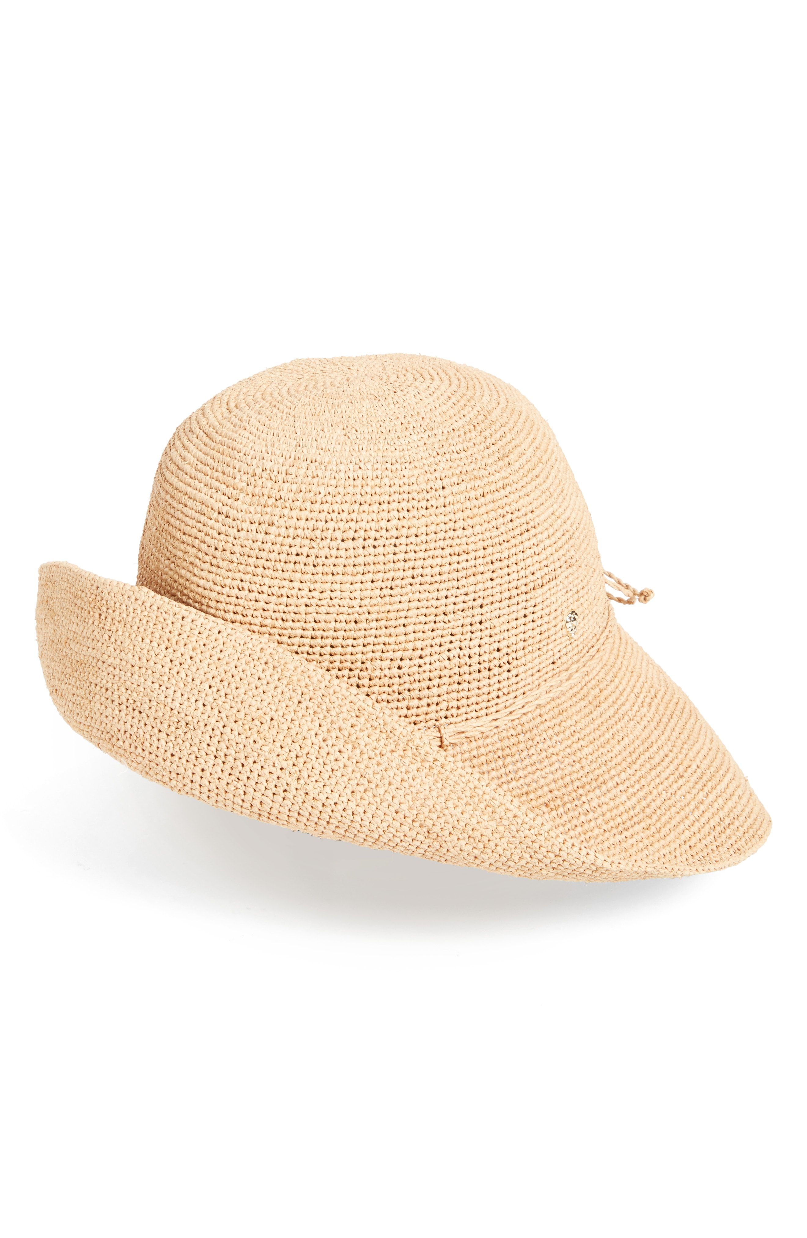 273b93298e41b Helen Kaminski  Provence 10  Packable Raffia Hat - Brown In Nougat ...