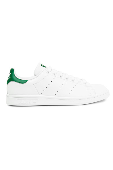 Stan Smith Leather Sneakers In White