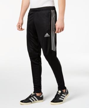 Adidas Originals Adidas Men's Tiro Metallic Soccer Pants In Black/Silver