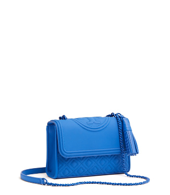 b2398540c42f Tory Burch Fleming Matte Small Convertible Shoulder Bag In Mediterranean  Blue