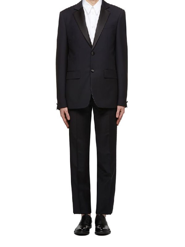 Givenchy Suit In Blu Notte Nero