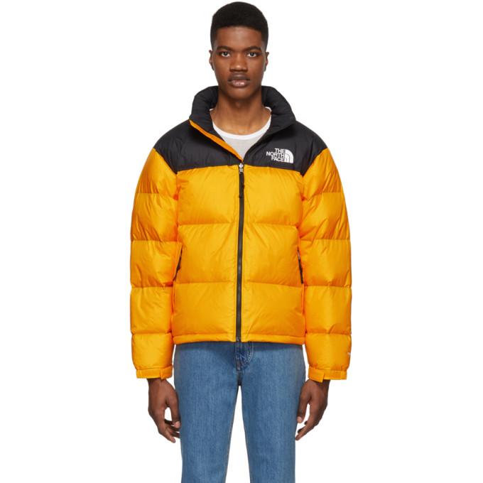 Brauch Großhändler begrenzter Stil The North Face Orange Down 1996 Retro Nuptse Jacket In H6G ...