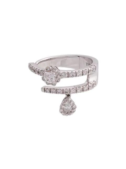Yeprem White Gold And Diamond Mystical Garden Ring