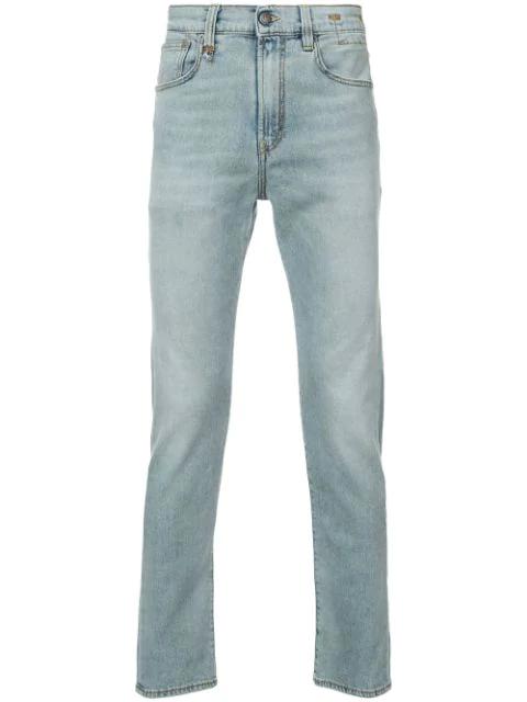 R13 Skinny Jeans In Blue