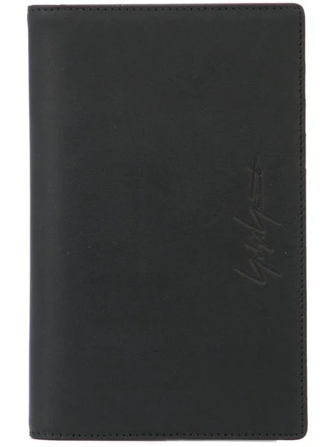 Yohji Yamamoto Phone And Card Case In Black