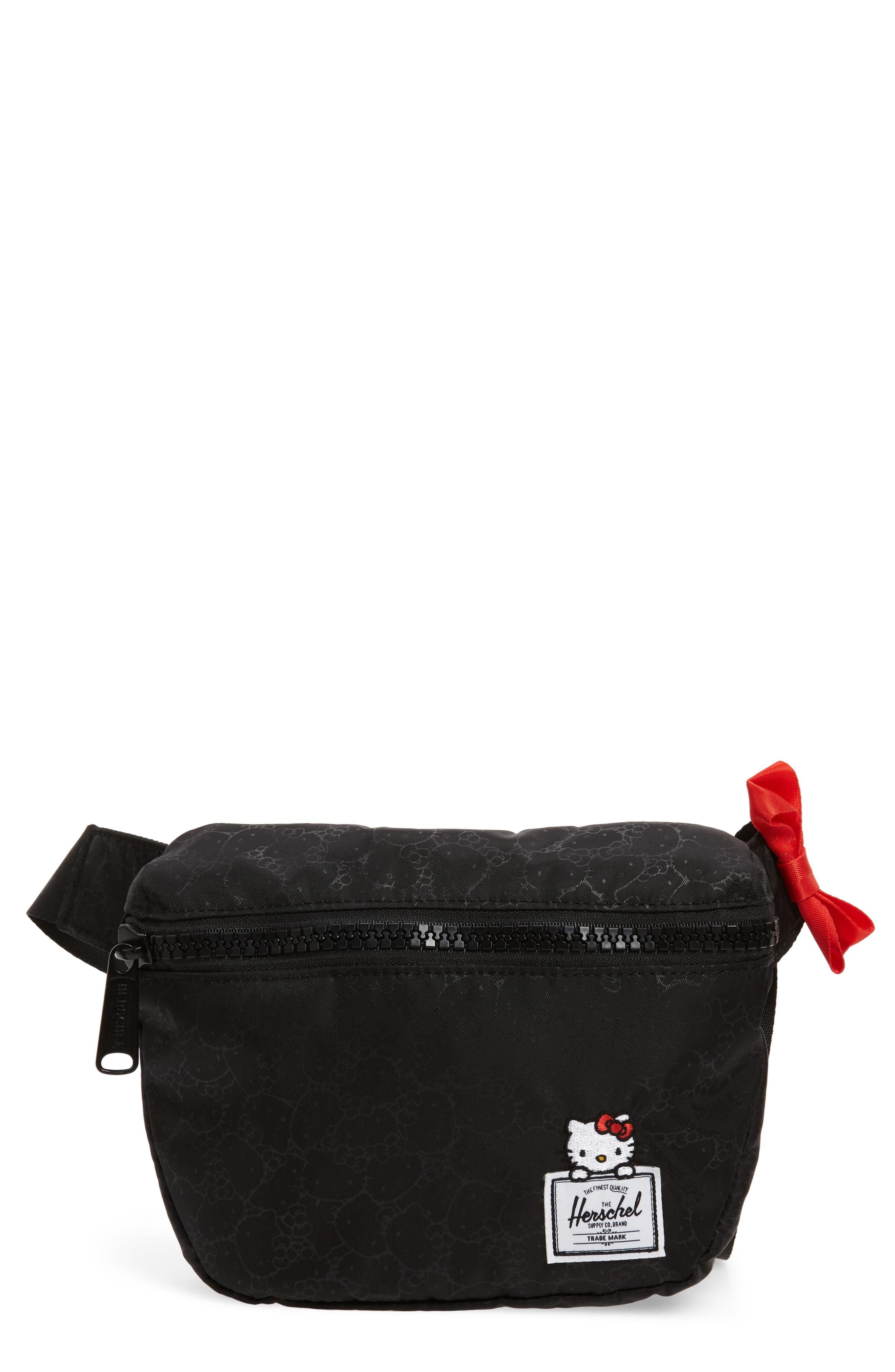 400dc5a76845 Herschel Supply Co. X Hello Kitty Fifteen Belt Bag - Black