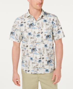 Tommy Bahama Men's Woven Hawaiian Shirt In Brown