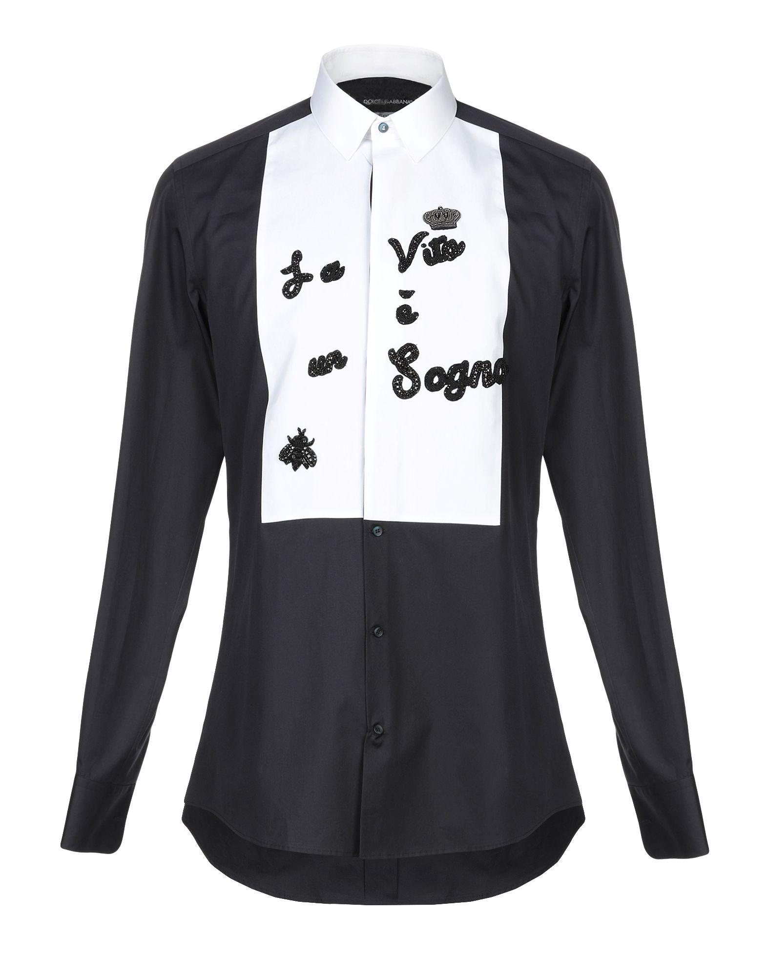 e52472f9499 Dolce & Gabbana Shirts In Dark Blue | ModeSens