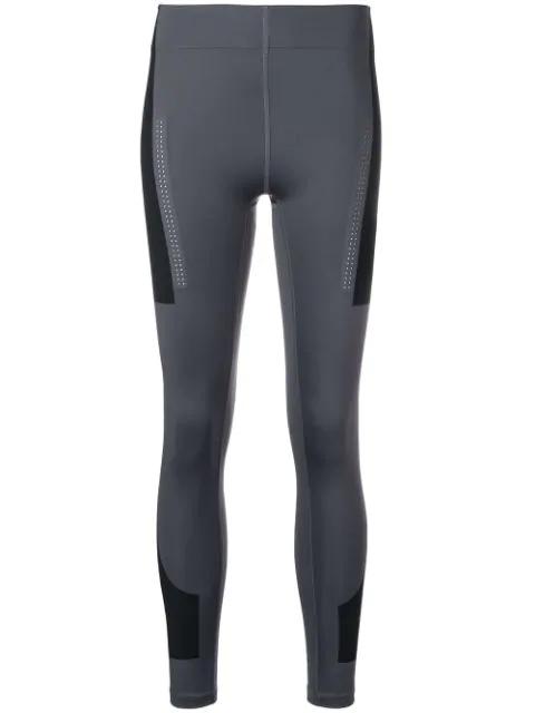 Adidas By Stella Mccartney Panelled Leggings In Grey