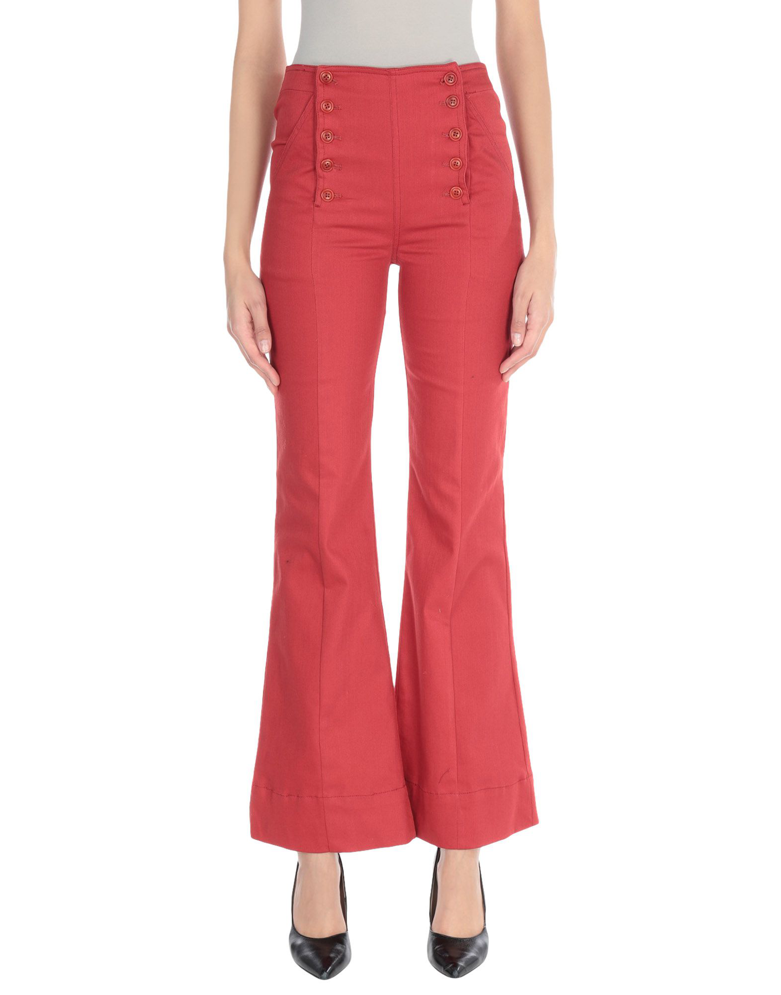 Ulla Johnson Casual Pants In Coral