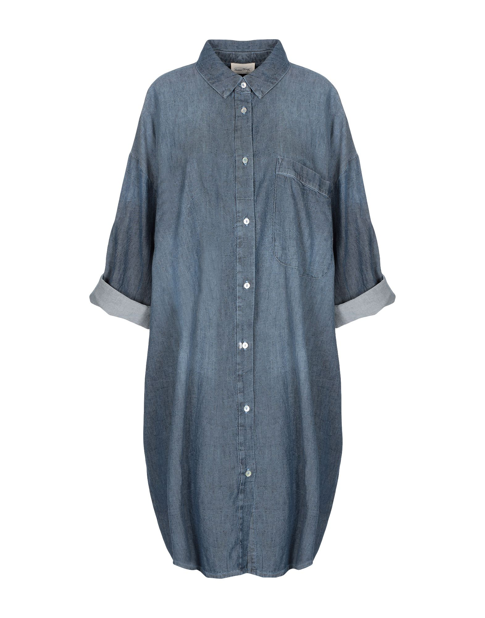 05eaef5ff American Vintage Short Dresses In Dark Blue | ModeSens