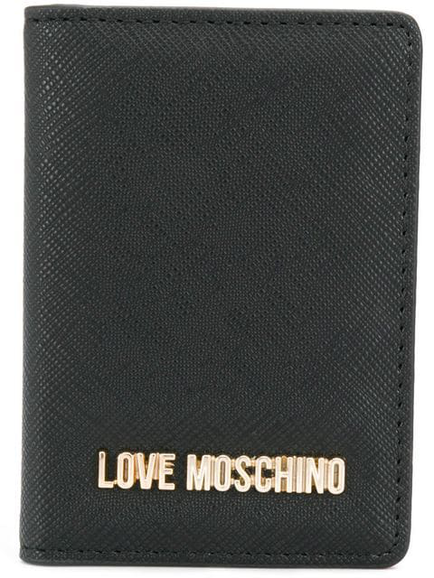 size 40 c53a6 7f612 Love Moschino Folded Card Case - Black