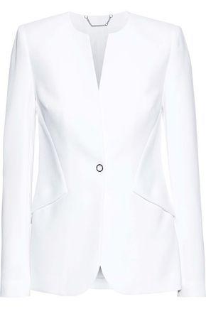 Elie Tahari Woman Allegra Crepe Blazer White