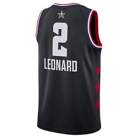 size 40 886d1 fae20 Men's Jordan Toronto Raptors Kawhi Leonard Nba All-Star Weekend 2019  Swingman Jersey, Black