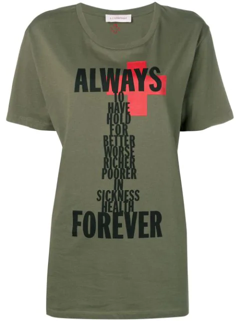 A.F.Vandevorst Printed T In Green