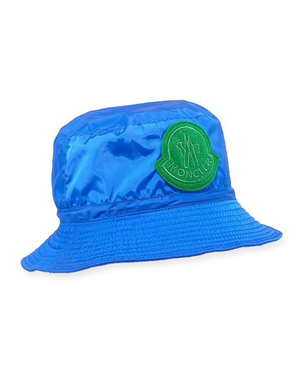 fff174f34046a Moncler Men s Berretto Bucket Hat In Turquoise