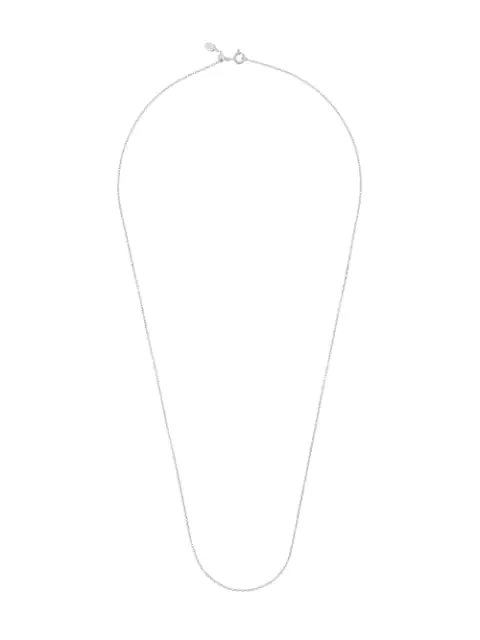 Maria Black Chain 65 Necklace In Silver