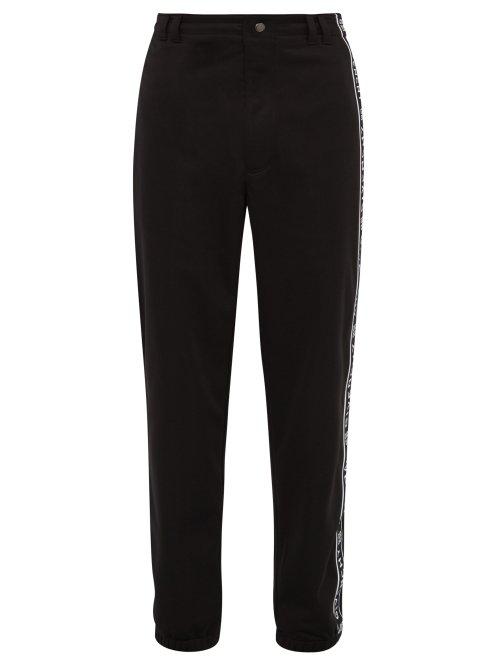 Givenchy - Logo Tape Track Pants - Mens - Black