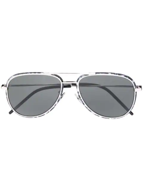 Saint Laurent Classic Sl 294 Sunglasses In Black