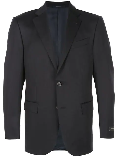 Ermenegildo Zegna Classic Suit Jacket In Blue