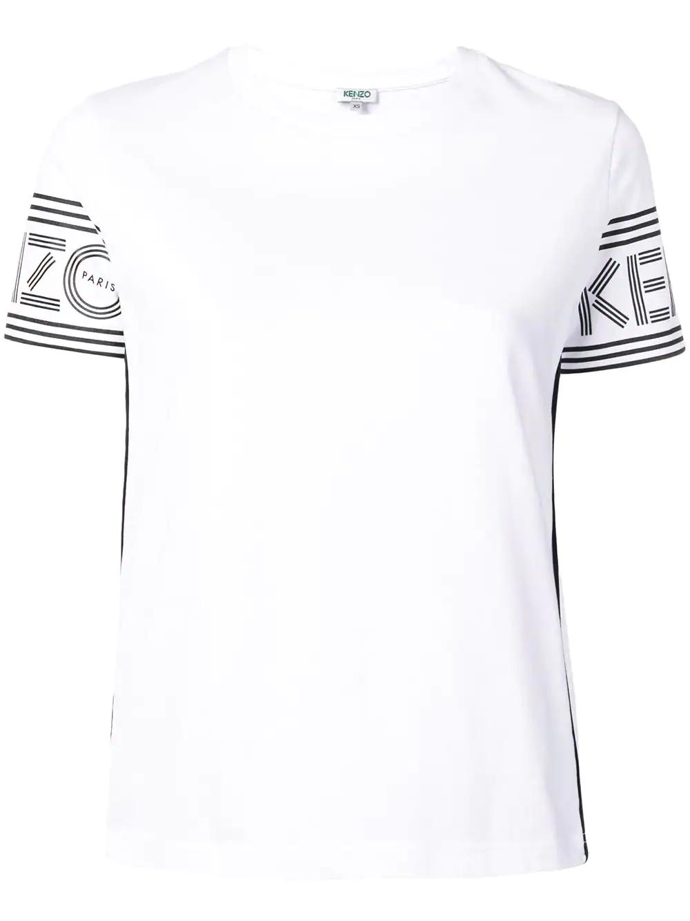 8a46198c187 Kenzo Logo Print T-Shirt - White | ModeSens