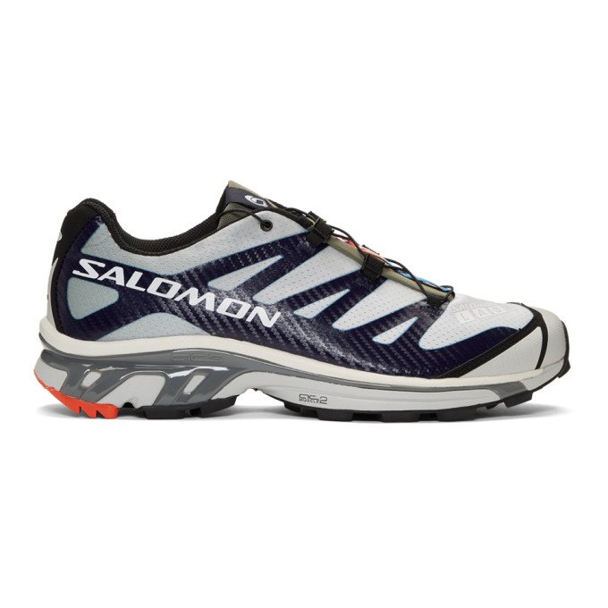 innovative design 4f7a7 6acc5 Salomon Grey And Blue S Lab Xt-4 Adv Sneakers In Shad Blue