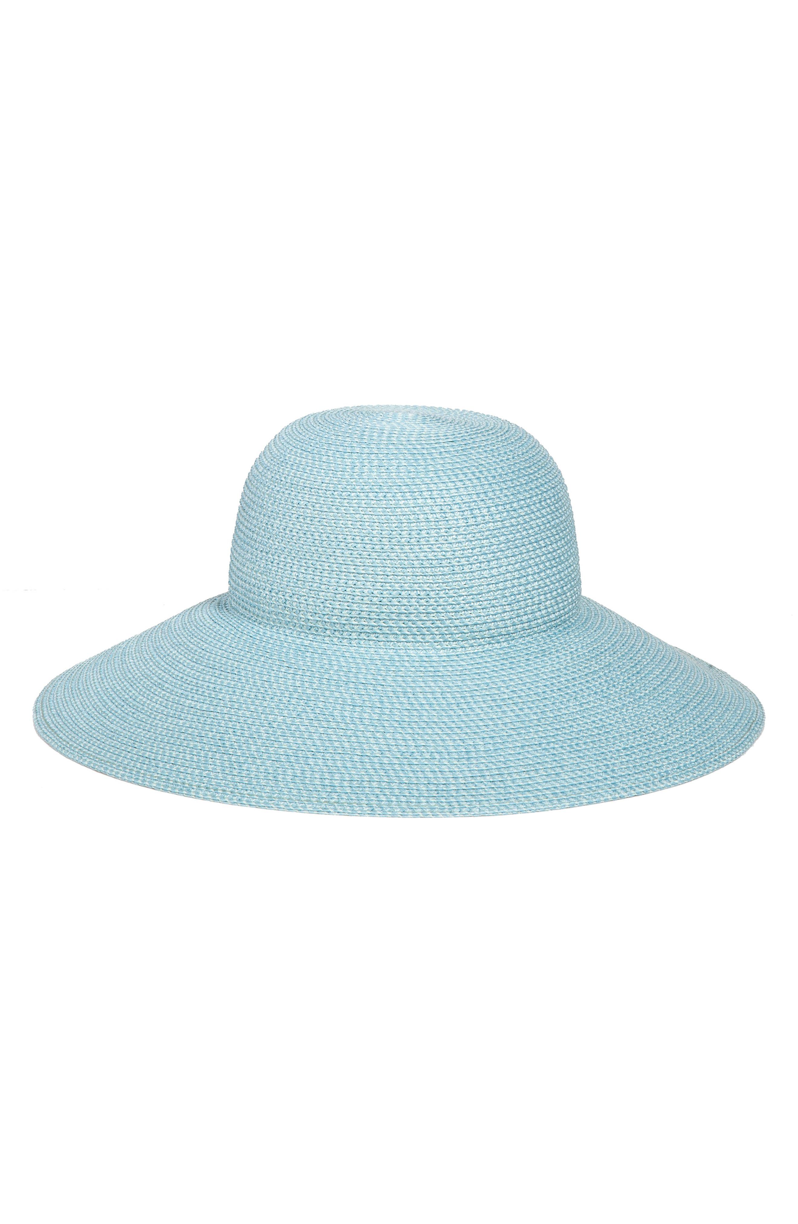535399e72ccfd Eric Javits  Hampton  Straw Sun Hat - Blue In Aqua