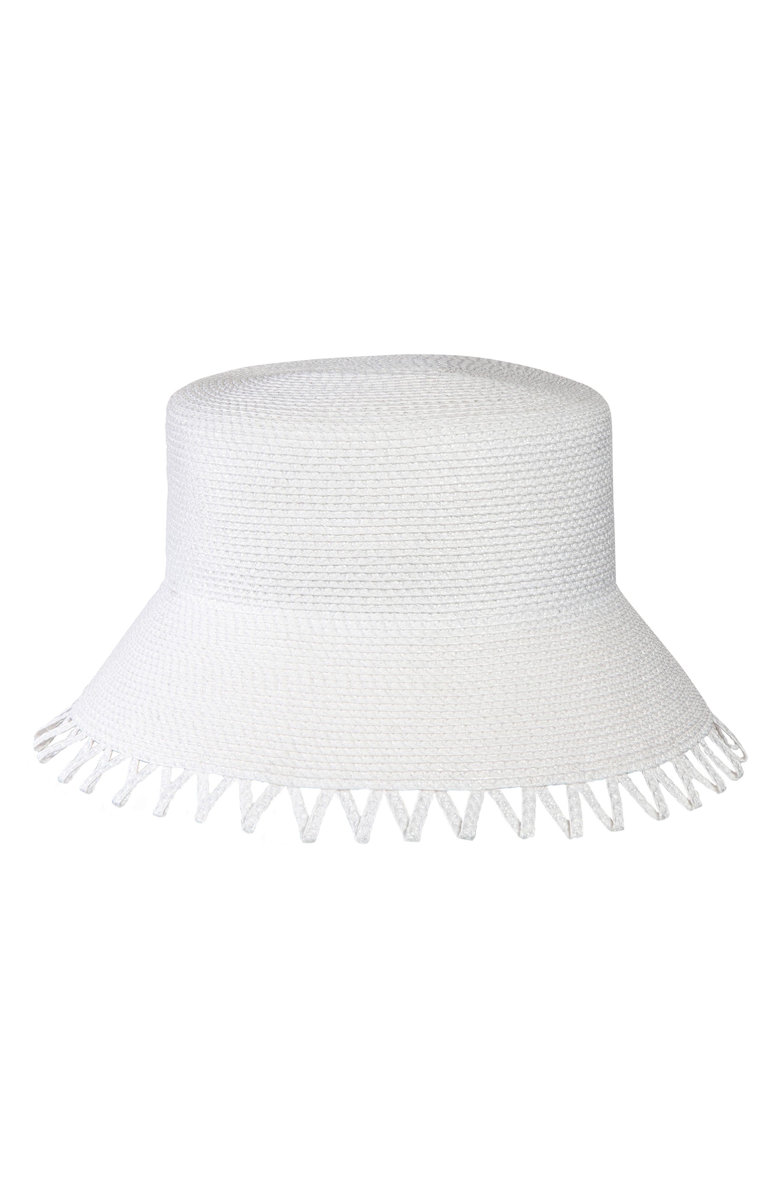 793cc542da2 Eric Javits Eloise Squishee Bucket Hat - White