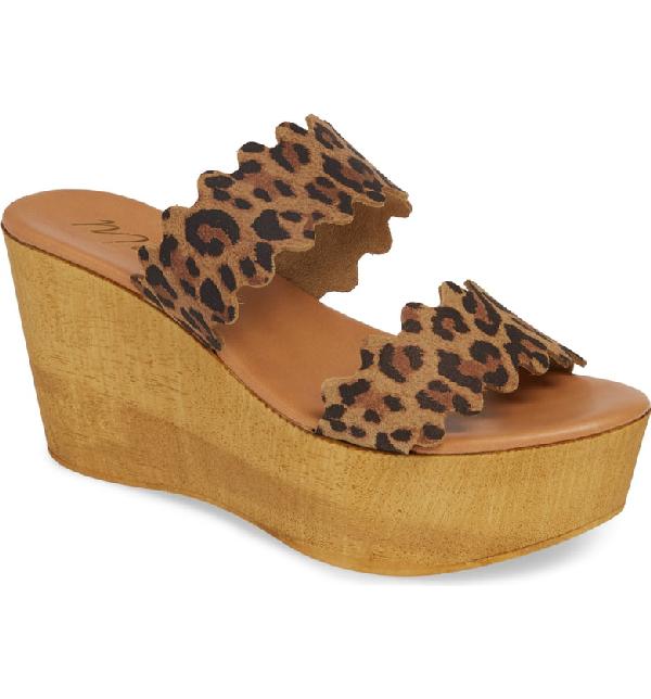 Matisse Charlie Slide Sandal In Leopard