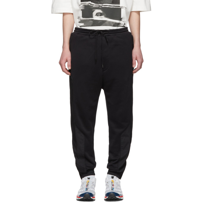 Juun.j Black Thealteredtech Lounge Pants In 5 Black
